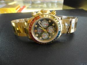 Đồng hồ nam Rolex daytona ad 1992 24 winner mạ vàng 18k