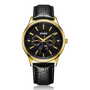 Đồng hồ nam STARKE SK027PM-GLD (dây đen)