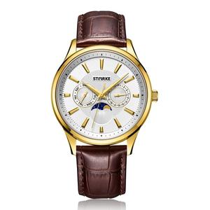 Đồng hồ nam STARKE SK027PM-GLT (dây nâu)
