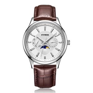 Đồng hồ nam STARKE SK027PM-WLT (dây nâu)