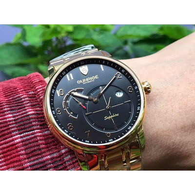 Đồng hồ nam sunrise 7001sb - mkd chính hãng
