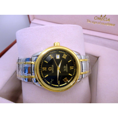 Đồng hồ nam tự động Omega deville co-axial chronometer OM8390-SG1A