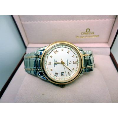Đồng hồ nam tự động Omega deville co-axial chronometer OM8390-SG7A