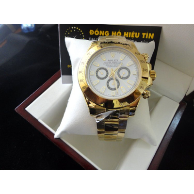 Đồng hồ nam tự động Rolex Cosmograph Daytona 43mm yellow gold