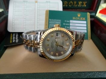 Đồng hồ nam tự động Rolex Dayjust steel and yellow gold