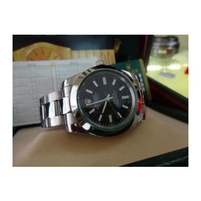 Đồng hồ nam tự động Rolex Migauss Stell Black