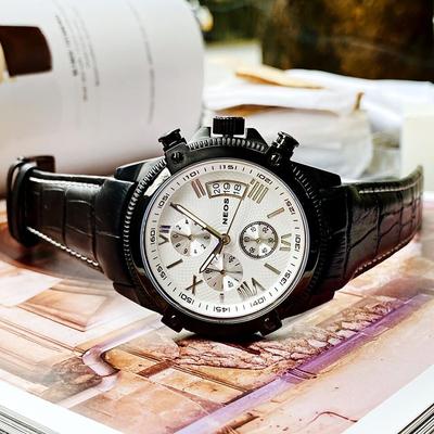 Đồng hồ Neos 6 kim N-40653M-ldkt chính hãng