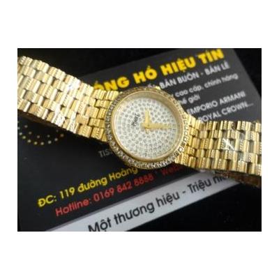 Đồng hồ nữ cao cấp Piaget diamond 18k gold g0a37044