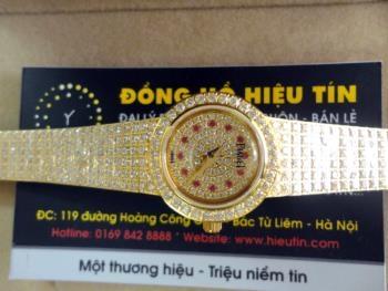 Đồng hồ nữ cao cấp Piaget diamond gold ruby G0A37044