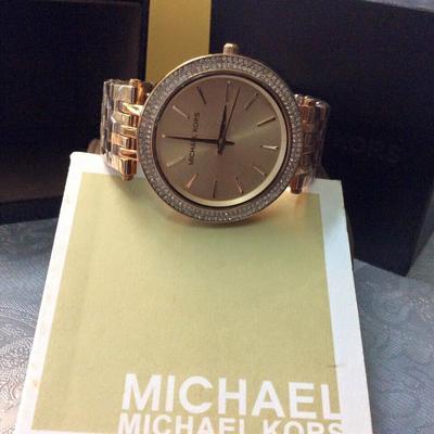 Đồng hồ nữ Michael Kors Darci Stainless Steel MK3192