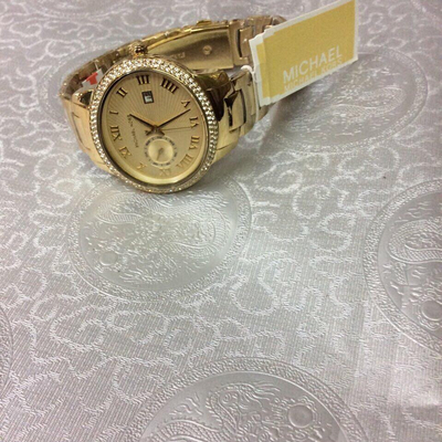 Đồng hồ nữ Michael Kors Whitley Champagne Dial Gold-plated MK6227