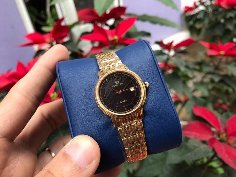 Đồng hồ nữ Olympia Star OPA58063LK-D