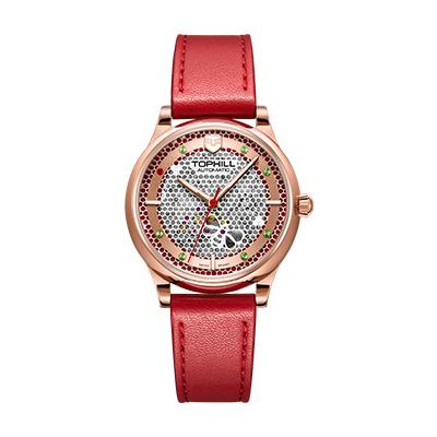 Đồng hồ nữ tự động TOPHILL TV003L.RPP chính hãng