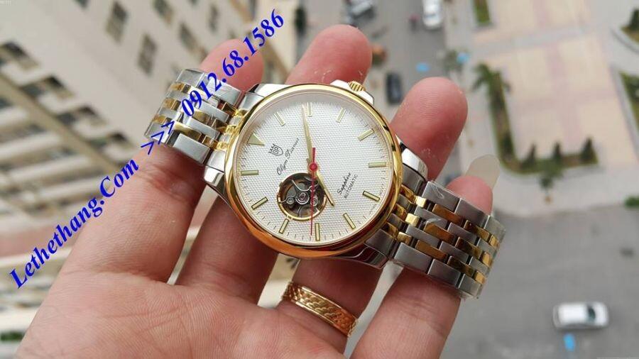 Đồng hồ Olym Pianus OP990-092AMSK-T