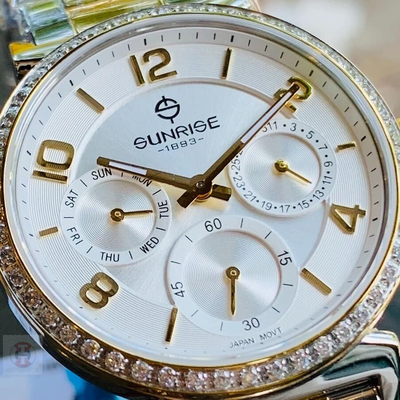 Đồng hồ nữ sunrise 9806aa - skt chính hãng