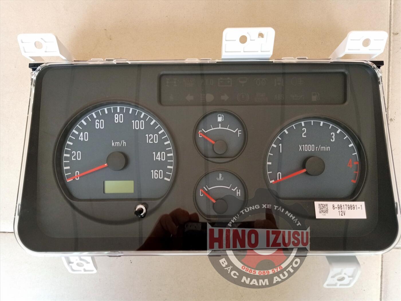 Đồng hồ taplo xe tải isuzu 1 tấn 9 qkr