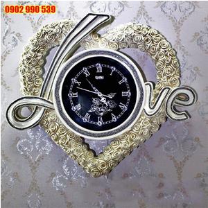 Đồng hồ treo tường mặt đá