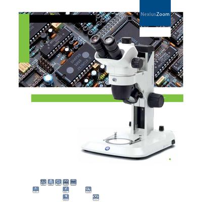 Dòng kính hiển vi soi nổi NexiusZoom và NexiusZoom EVO