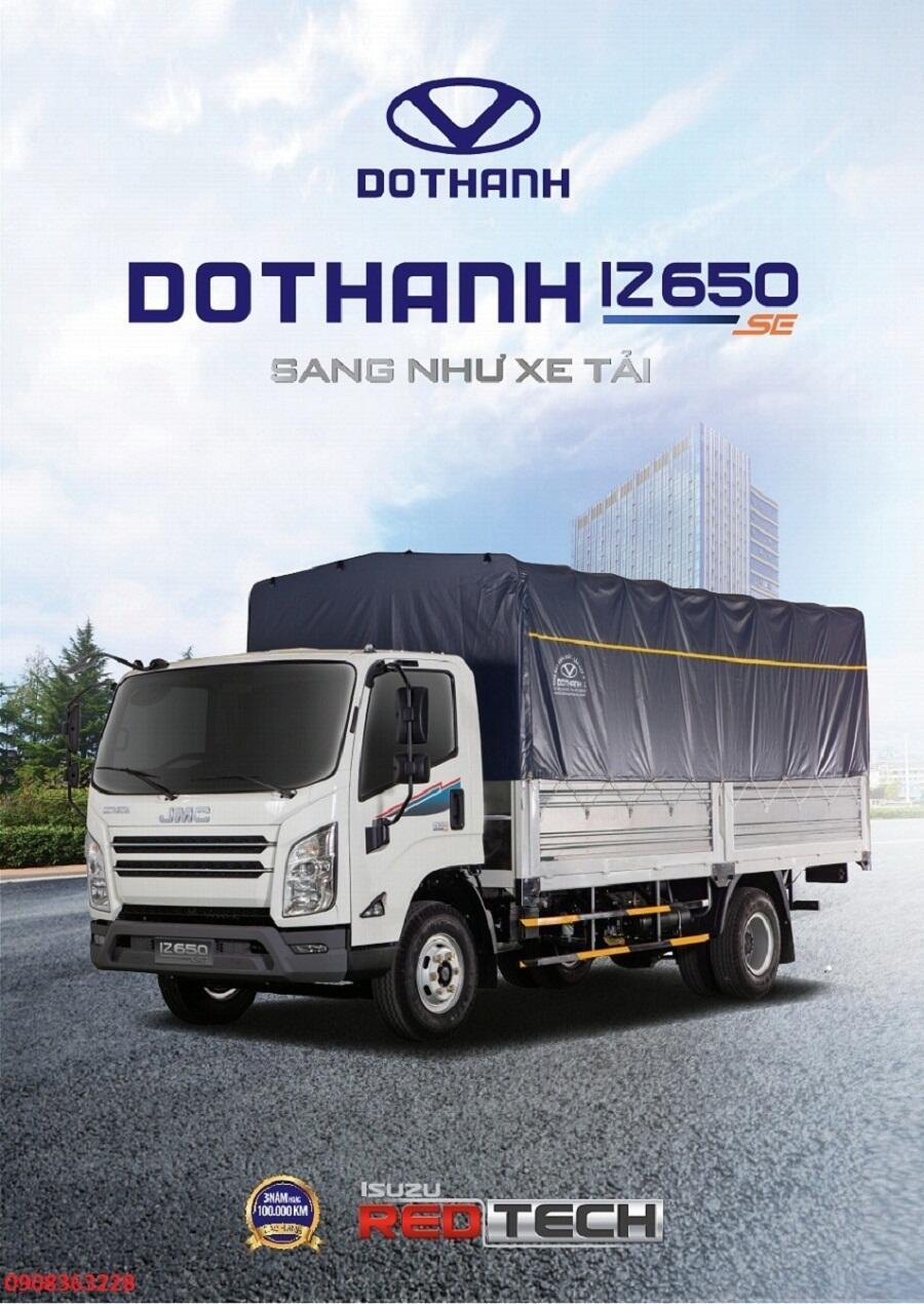 Xe tải IZ650 SE 6,5 Tấn New 2020