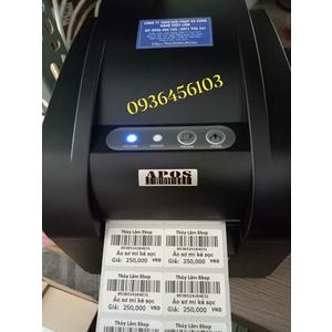 Download driver máy in tem mã vạch APOS 350BN