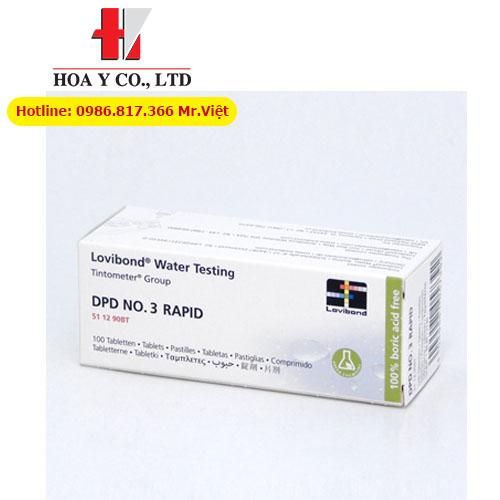 Thuốc thử DPD No. 3 Rapid