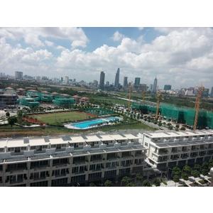 Dự án phục hồi kính trầy xước Khu đô thị SaLa Đại Quang Minh Q2