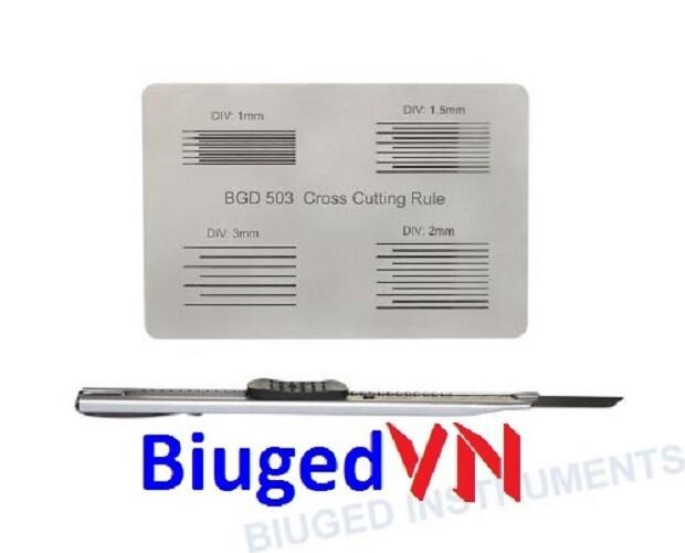 Thước đo độ bám dính màng sơn Biuged BGD503