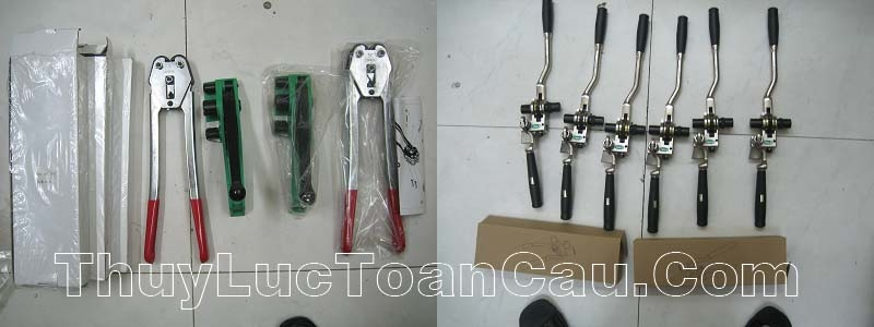 Kìm siết đai nhựa, inox, sắt thép, Dụng cụ đóng đai nhựa, inox sắt thép