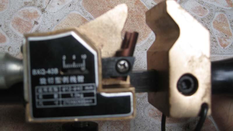 Dụng cụ gọt vỏ cáp Tlp BXQ-40B - cắt lột lớp vỏ cách điện