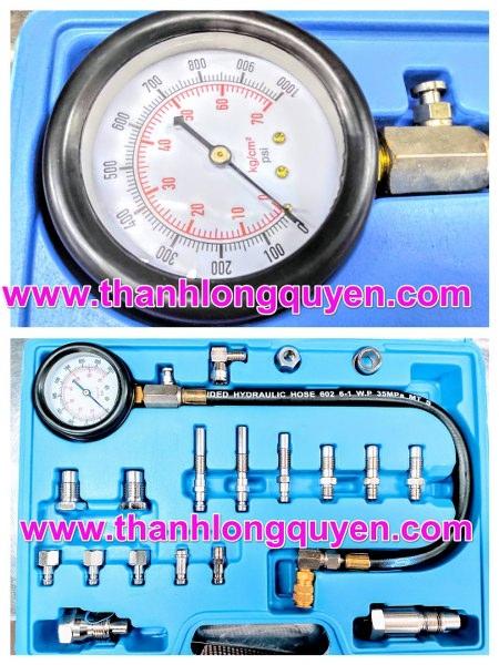 dụng cụ kiểm tra áp suất xi lanh trên động cơ diesel xe ô tô và xe tải