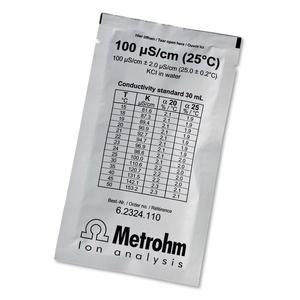 Dung dịch chuẩn độ dẫn điện 100 µS/cm Metrohm 6.2324.110