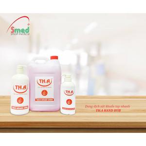 Dung dịch sát khuẩn tay nhanh TH.A Hand Rub 500 ml, 1 lít & 5 lít