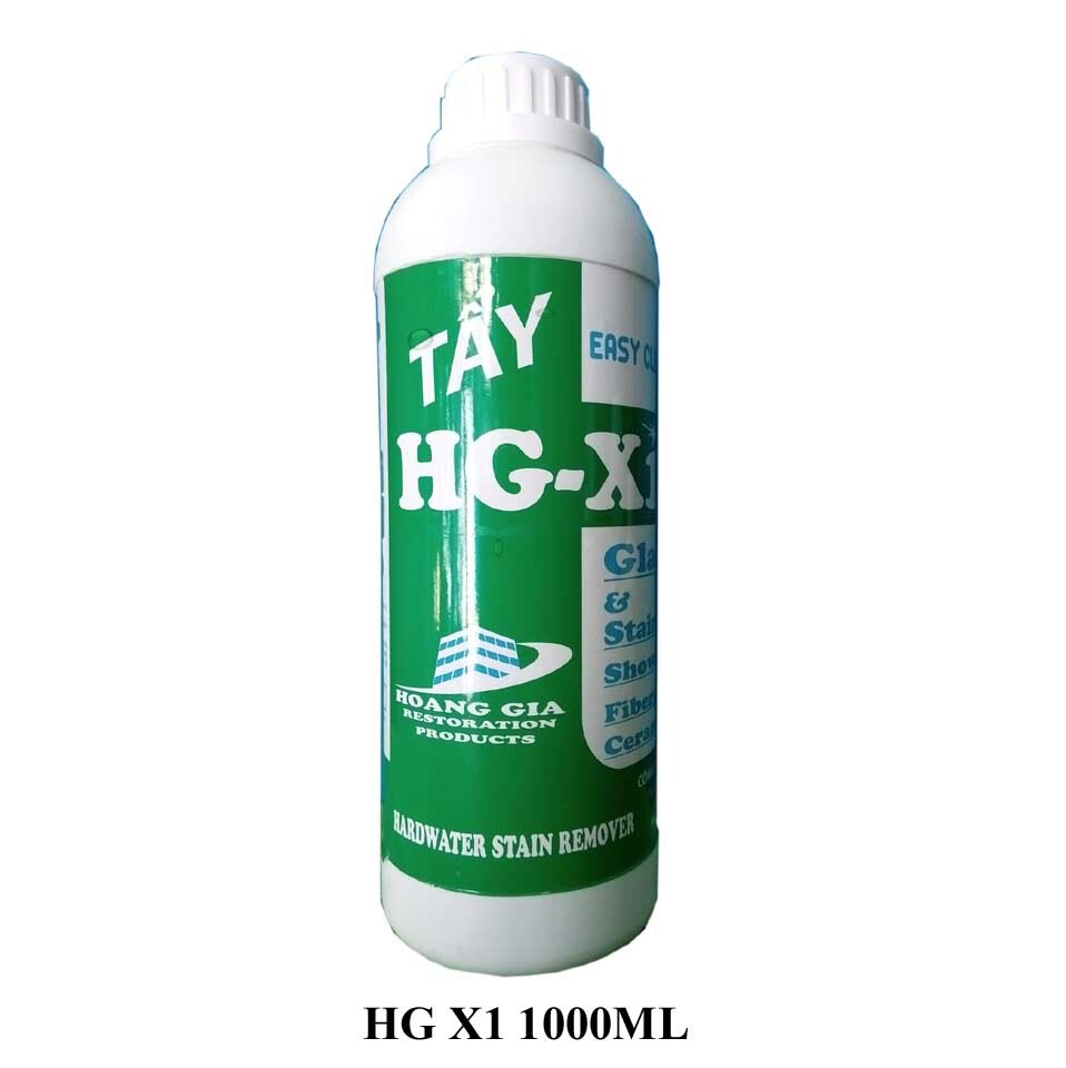 DUNG DỊCH TẨY Ố KÍNH XE - HG X1 HARDWATER STAIN REMOVER for Car 1000 ML