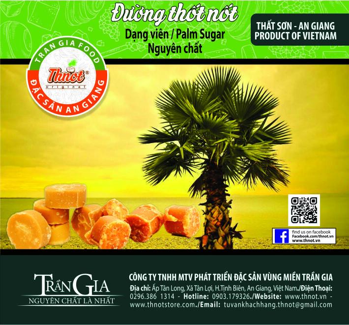 Bán đường thốt nốt nguyên chất giá rẻ tại Đồng Nai