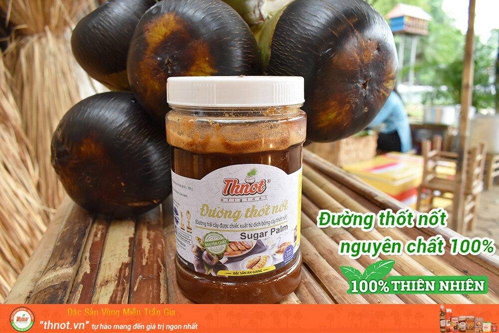 Đường thốt nốt nguyên chất 100% - Trần Gia cam kết sản phẩm hoàn toàn từ trái thốt nốt