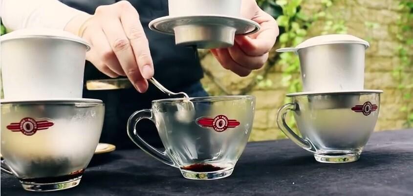 Giá cafe chế phin Trung Nguyên