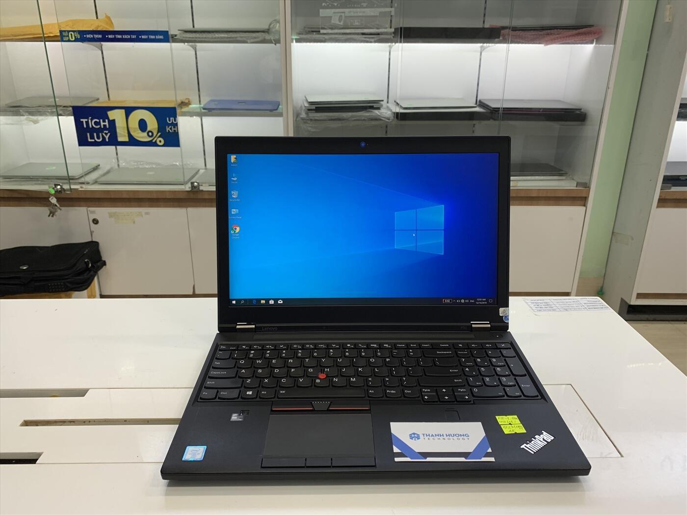 Lenovo ThinkPad P50 (Xeon E3-1505M v5 | Ram 16GB | SSD 512GB | 15.6 inch FHD | Nvidia Quadro M2000M)