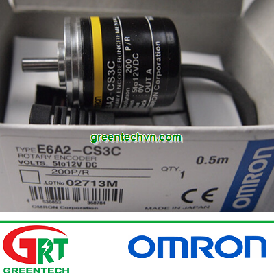 E6A2-CS3C E6A2-CS3C-10P/R   Bộ mã hoá vòng xoay E6A2-CS3C E6A2-CS3C-10P/R   Encoder   Omron Vietnam