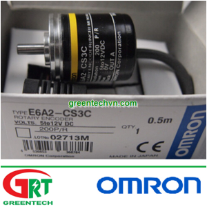 E6A2-CS3C E6A2-CS3C-10P/R | Bộ mã hoá vòng xoay E6A2-CS3C E6A2-CS3C-10P/R | Encoder | Omron Vietnam