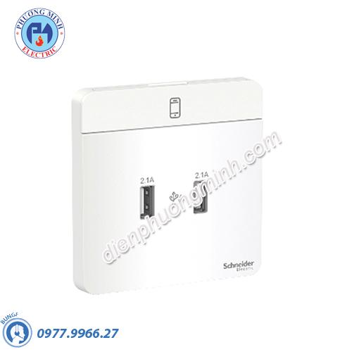 Bộ ổ sạc USB đôi 2.1A - Model E8332USB_WE