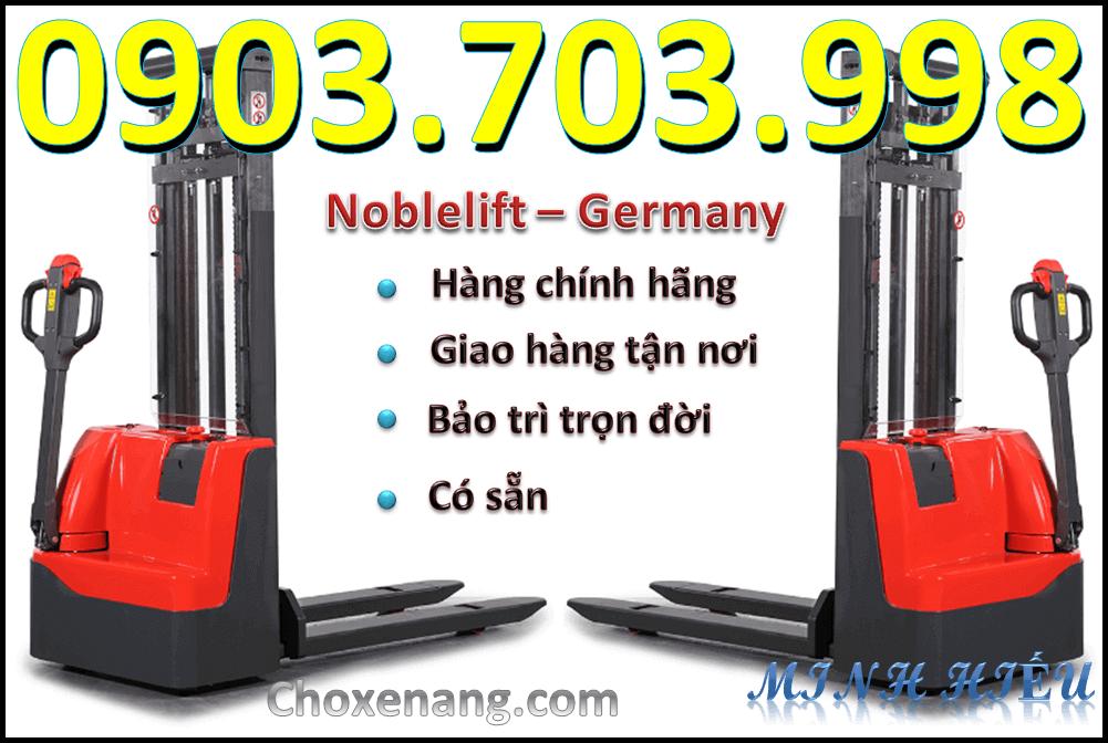 Xe nâng điện đứng lái 1000kg ECL1020 Noblelift Germany tại Bình Dương