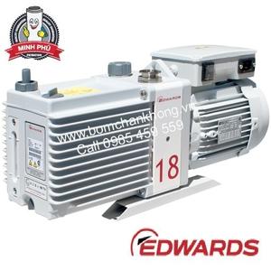 EDWARDS E2M18 100/200V, 1-ph, 50Hz or 100-105/200-210V, 1-ph, 60Hz