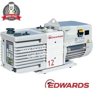 EDWARDS PFPE RV12 Two Stage Rotary Vane Pump 115/230V 1ph 50/60Hz