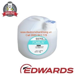 EDWARDS VACUUM PUMP OIL FOMBLIN® Y VAC 25/6