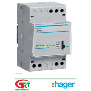 EE100   Hager   Cảm biến quang EE100   Photocell EE100   Hager Vietnam