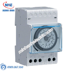 Timer 24h Hager - Model EH111 loại Analog
