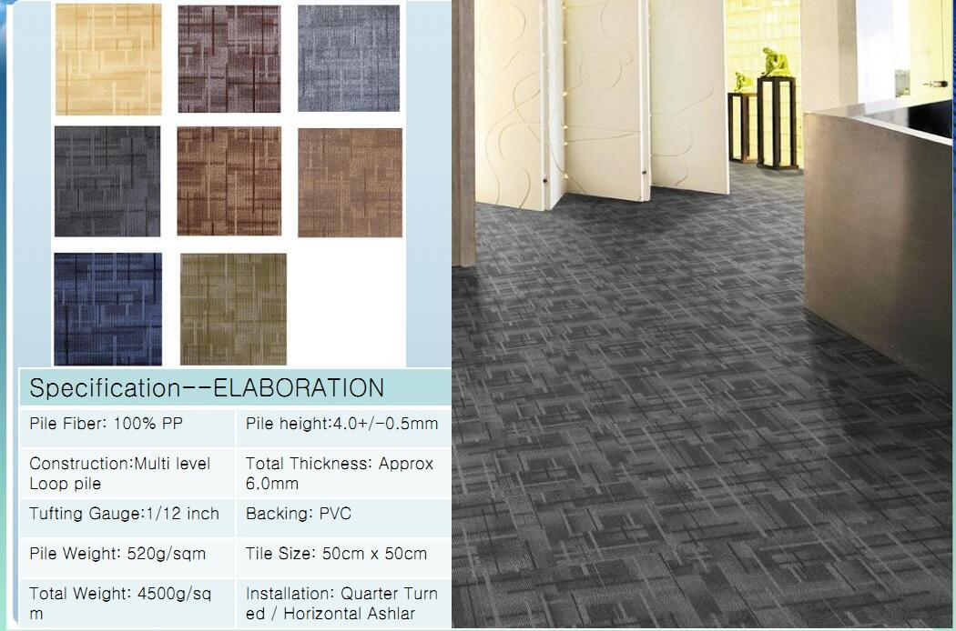 Thảm viên trải sàn Elaboration carpet