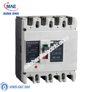 ELCB 4P 100A 300mA 50kA Type M - Model HDM1LE225M1004TA