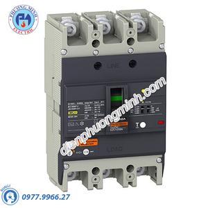 ELCB Type H 3P 100A 36kA 415VAC 0.1-1A - Model EZCV250H3100