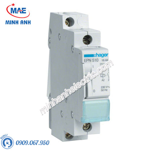 Timer 24h Hager - Model EPN510 dòng Latching Relay